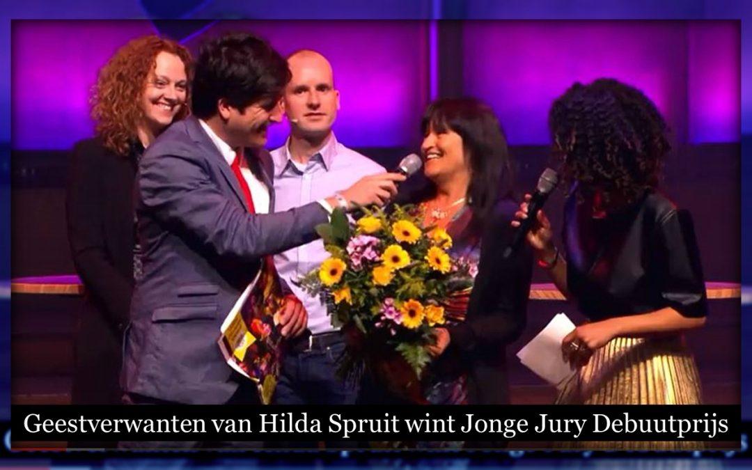 Hilda Spruit wint Jonge Jury Debuutprijs