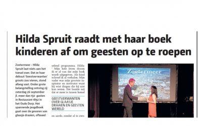 Interviews in diverse streek- en dagbladen