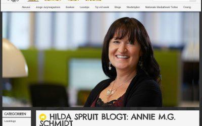 Bloggen voor De Jonge Jury over Annie M.G. Schmidt