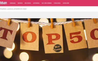 Geestverwanten op 38 in Top 50 most wanted YA 2016