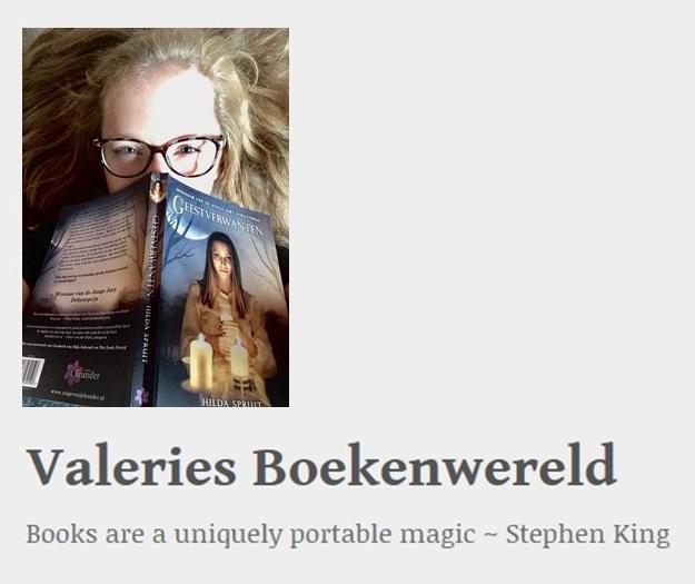Interview op Valeries Boekenwereld