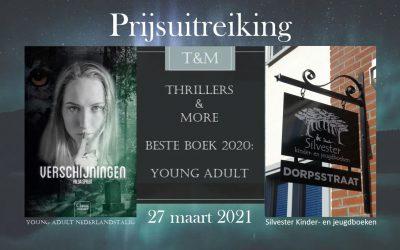 Prijsuitreiking Verschijningen 'Beste Young Adult Nederlandstalig 2020″ van Thrillers And More