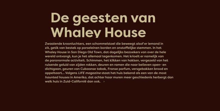 De geesten van Whaley House / ParaVisie / Hilda Spruit / september 2021